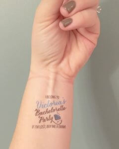Aren't these temporary tattoos adorable? So much fun!